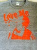 『Love Me』 Tシャツ ブラック×レッド【枚数限定】