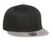 002 CAPサイドロゴ グレー・ブラック