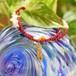 キャディバック+赤色珊瑚 ペンダント