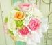 G0405) バラのラウンドブーケ (生花)