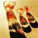 【秋】紅葉耐熱ガラスの日本酒 徳利&ペアお猪口|お誕生日プレゼント・退職祝いプレゼント・結婚祝いギフト・両親へのプレゼント