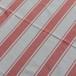 Beach Rug (W) red×white
