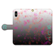 #024-012 iPhoneX対応 病み系・メンヘラ系  オリジナルデザイン 《あいころ》 手帳型iPhoneケース ・ 手帳型スマホケース 全機種対応 作:秋夜 Xperia ARROWS AQUOS Galaxy HUAWEI Zenfone