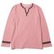 HIP STAR V-NECK L/S (PINK) / RUDE GALLERY