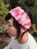 波なみヘアバンド【ピンク系】