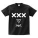 ERICH / XXX LOGO T-SHIRT BLACK