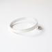 circle pin brooch - silver