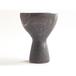 mushroom vase 3(antiquegold)
