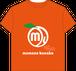 Tシャツ キッズ オレンジ