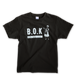 "B.O.K T-shirt ""black&grey"""
