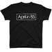 April in 85 / ロゴビッグTシャツ black
