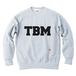 TSUBOMIN / TBM LOGO CREWNECK SWEAT ASH