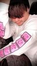 TikTokerきゅーさん@ぶりっこおじさん OfficialロングスリーブTシャツ