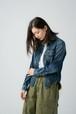 【No. BSL603 Color. 07 Indigo Dark】 Womens Selvage Over Shirts
