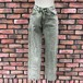 1990s Deadstock Europa Comfort Fit Jeans Green Made In England W26