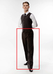 LORENZO Fashion(Black Stripe White) ※裾上げテープを無料プレゼント!