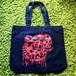 ブラッドパイソントートバッグ(Blood python tote bag)