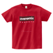 avenomix / BOX-LOGO & SIGN T-SHIRT GARNET-RED