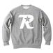 R-logo / スウェット(White/Gray)【送料無料】【Shop限定】