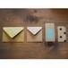 クラフト紙 封筒・ポチ袋セット(B) / Craft Envelop Set B