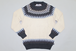 SNOW PATTERN KNIT   -NATURAL-