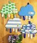 かしゃかしゃ雲! タグいっぱいのおもちゃ (3種類)
