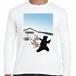 スキー場 クマ 長袖 Tシャツ