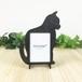 「ねこ」木製写真立て フォトフレーム インテリア