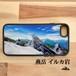 燕岳 イルカ岩 登山 山 強化ガラス iphone スマホケース アウトドア