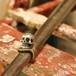 "Skull ""Vintage Key"" Ring : NATIONAL"