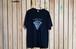 PIZZA design T-shirts(ブラック)