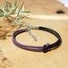 men's bracelet ■mb(purple2)