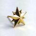 10P STAR STUD K18 YELLOW GOLD / 10ピークス スターピアス・K18イエローゴールド