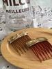 brass comb