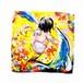 1036- マイクロファイバーハンドタオル*天使の背中シリーズ*【o sonho de anjo】
