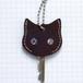 猫の本革キーカバーS KCS102
