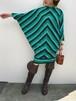 Vintage  green dolman sleeve dress ( ヴィンテージ グリーン ドルマンスリーブ ワンピース )