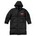 minario / BOX LOGO BENCH COAT BLACK