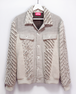 Linen cotton&Wool slash G-jacket