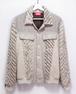 Linen cotton&Wool slash G-jacket