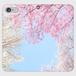 桜 帯なし手帳型スマホケース