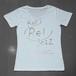 key Rei jazz T-shirts 半袖 白×シルバー箔