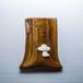 プードルがワンポイントの陶器のペンスタンド