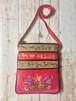 ネパール 羊革製 斜め掛けバッグ