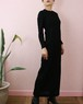60's black lace dress
