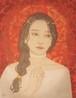 八木恵子「柱と赤い部屋」