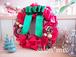 クリスマスのリボンリース【ギフト用完成品】