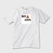 氣合200% Tシャツ 白  表面 ガーメントインクジェット印刷