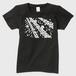 SaKuRa 黒/白 レディースTシャツ