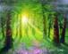 ジョン・ラッテンベリー作「生命の光」ジクレ(ミックスメディア)